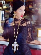 2013年9月《Dolce & Gabbana》饰品画册