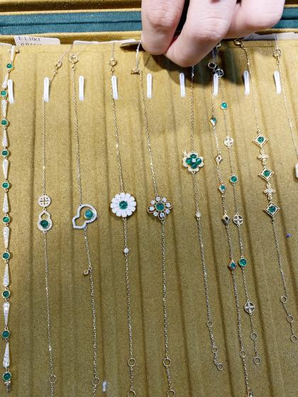 国际珠宝展女式手饰手链图片5183452