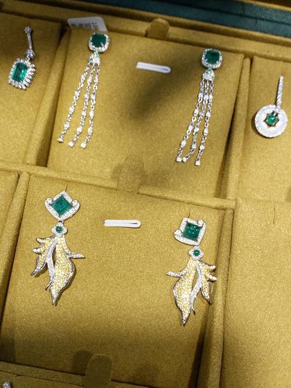 国际珠宝展女式耳饰耳坠图片5183450
