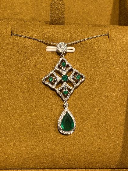 国际珠宝展女式颈饰吊坠图片5183447