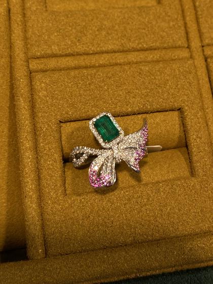 国际珠宝展女式手饰戒指图片5183446