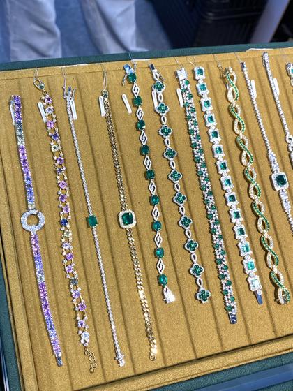 国际珠宝展女式手饰手链图片5183443
