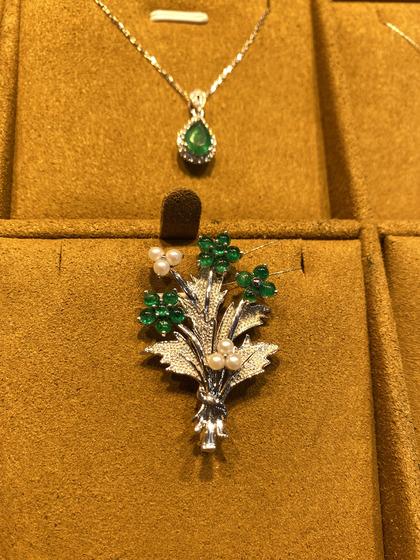 国际珠宝展女式胸饰胸针/胸花图片5183441