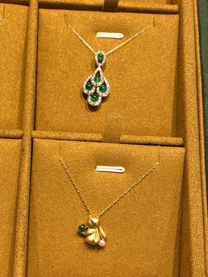 国际珠宝展女式颈饰吊坠图片5183440