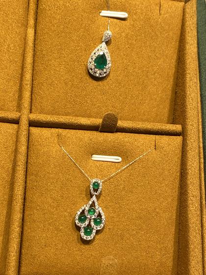 国际珠宝展女式颈饰吊坠图片5183439