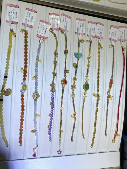 国际珠宝展女式手饰手链图片5183423