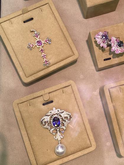 国际珠宝展女式颈饰吊坠图片5183472