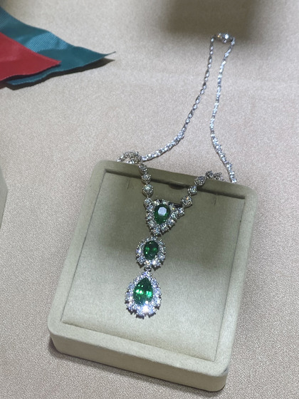 国际珠宝展女式颈饰项链图片5183467