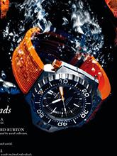 杂志 男式 手表 运动手表图片3355281