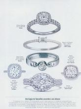 杂志 女式 手饰 婚庆戒指图片3831678