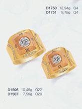 杂志 女式 手饰 对戒图片3865102