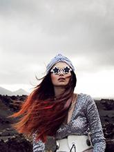 杂志 女式 眼镜 太阳镜图片4272579