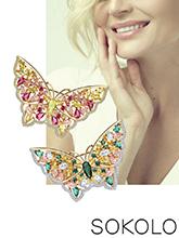 雜志 女式 胸飾 胸針/胸花圖片4426231