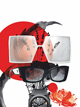 杂志 女式 眼镜 太阳镜图片4447427