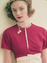 雜志 女式 頸飾 項鏈圖片4455416