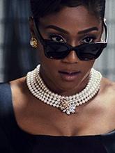 雜志 女式 頸飾 項鏈圖片4460702