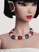 雜志 女式 頸飾 項鏈圖片4523869