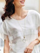 杂志 女式 颈饰 毛衣链图片4541881
