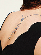 杂志 女式 颈饰 毛衣链图片4590016