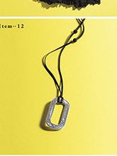 杂志 女式 颈饰 毛衣链图片4597774