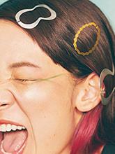 杂志 女式 发饰 发夹图片4600614