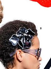 杂志 女式 发饰 发夹图片4602755