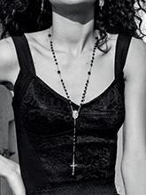 杂志 女式 颈饰 毛衣链图片4626926