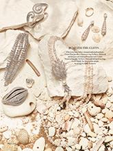 杂志 女式 颈饰 毛衣链图片4626915