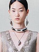 雜志 女式 頸飾 吊墜圖片4654971