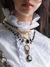 雜志 女式 頸飾 吊墜圖片4656623