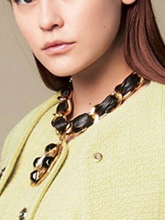 雜志 女式 頸飾 項鏈圖片4656622