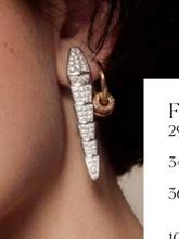 杂志 女式 耳饰 耳钉图片4662046