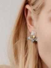 杂志 女式 耳饰 耳钉图片4662039