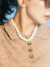 雜志 女式 頸飾 項鏈圖片4670709