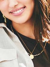 雜志 女式 頸飾 項鏈圖片4670793