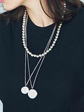 雜志 女式 頸飾 項鏈圖片4670813
