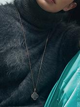 杂志 女式 颈饰 毛衣链图片4716611