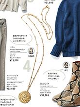 杂志 女式 颈饰 毛衣链图片4716608