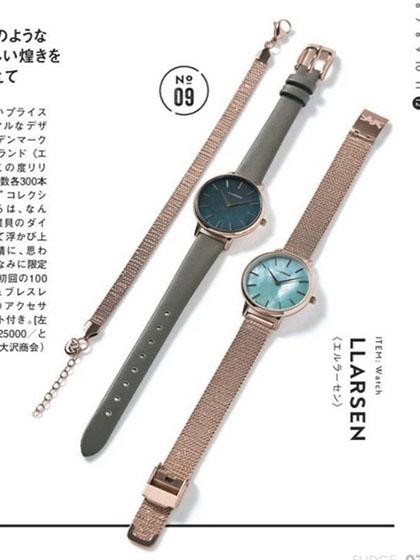 杂志 女式 手表 时尚手表图片4744182