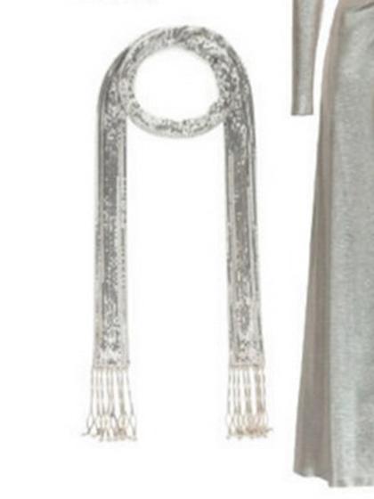 杂志 女式 颈饰 毛衣链图片4752749