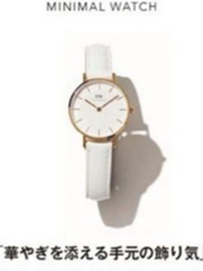 杂志 女式 手表 时尚手表图片4756899