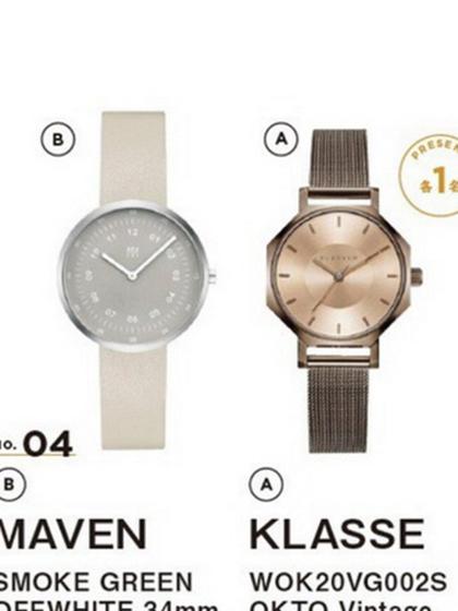 杂志 女式 手表 时尚手表图片4759566