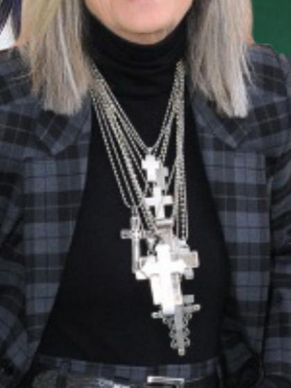 杂志 女式 颈饰 毛衣链图片4767637