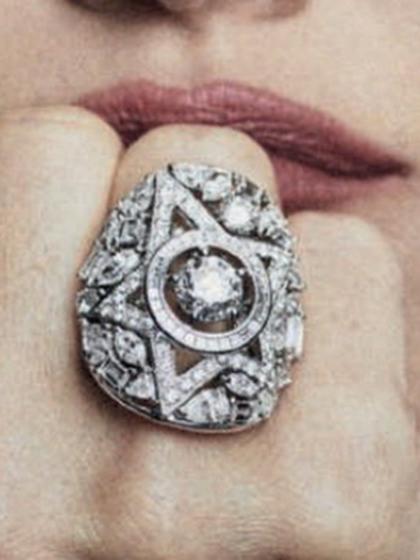 杂志 女式 手饰 戒指图片4779598