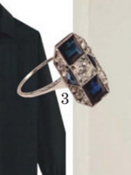 杂志 女式 手饰 戒指图片4781061