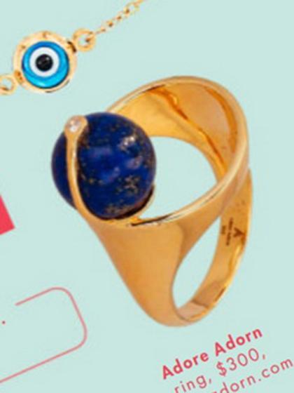 杂志 女式 手饰 戒指图片4783241