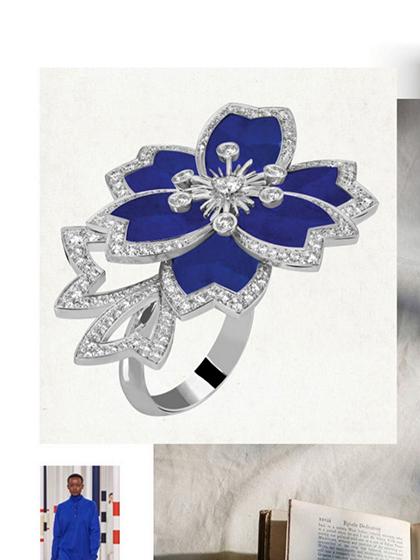 杂志 女式 手饰 戒指图片4785091