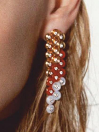 杂志 女式 耳饰 耳坠图片4785116