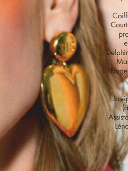 杂志 女式 耳饰 耳坠图片4785114
