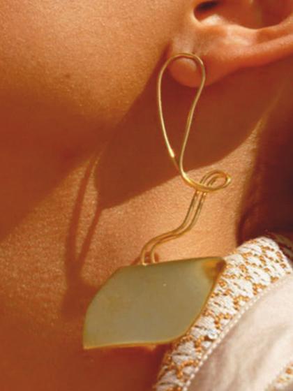 杂志 女式 耳饰 耳钉图片4787128
